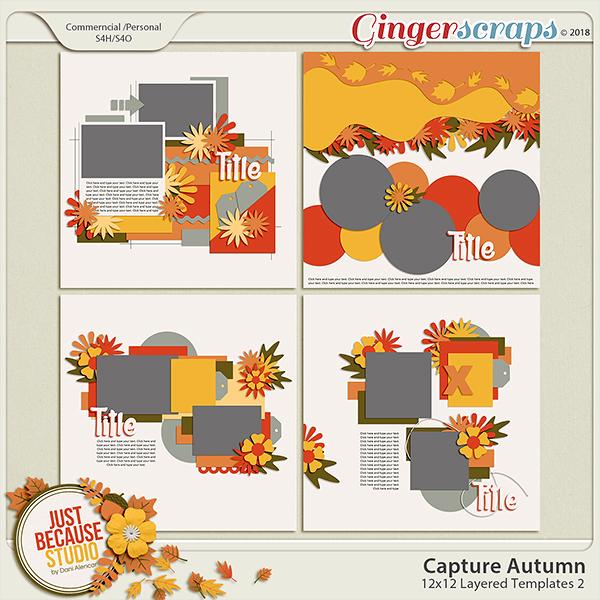 Capture Autumn Templates by JB Studio