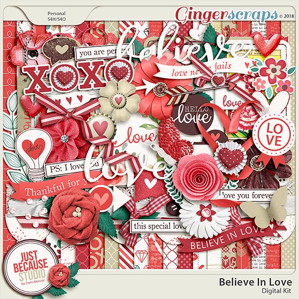 Believe In Love Digital Kit by JB Studio