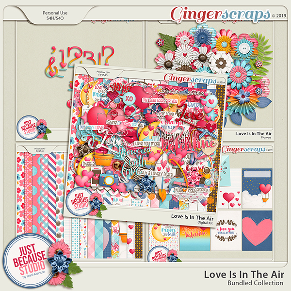 Love Is In The Air Bundled Collection by JB Studio