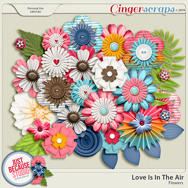 Love Is In The Air Flowers by JB Studio
