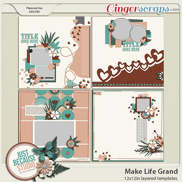 Make Life Grand Templates by JB Studio