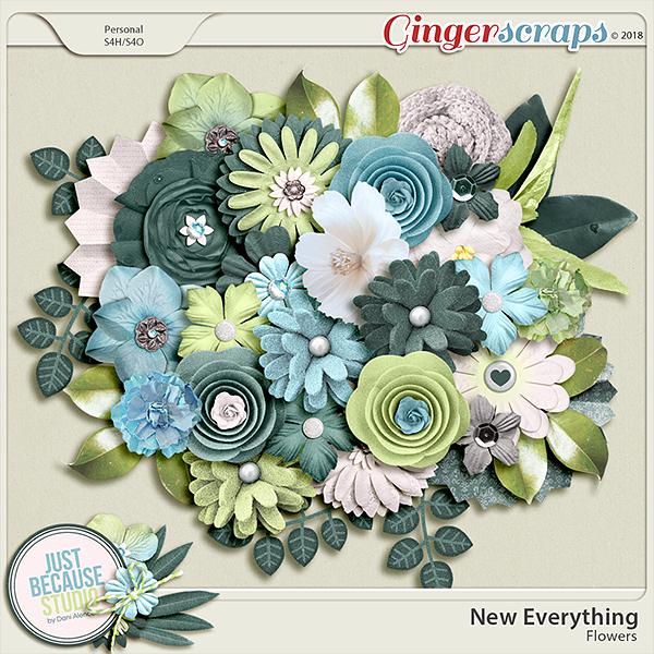 New Everything Flowers by JB Studio