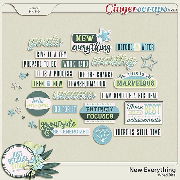 New Everything Wordbits by JB Studio