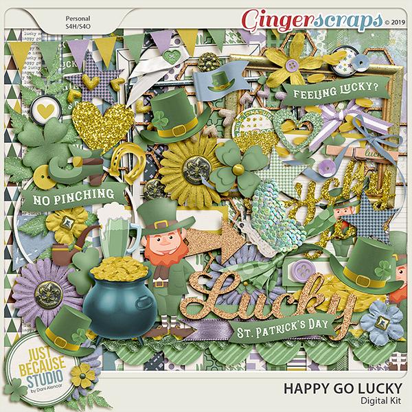 Happy Go Lucky Digital Kit by JB Studio