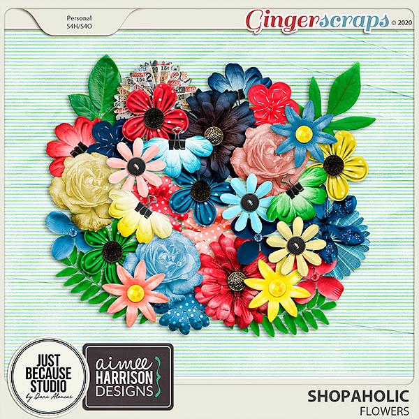 Shopaholic Flowers by JB Studio and Aimee Harrison Designs