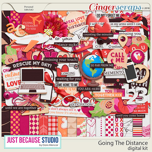 Going The Distance Digital Kit by JB Studio