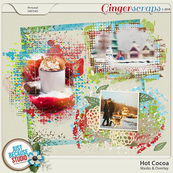 Hot Cocoa Masks & Overlay by JB Studio