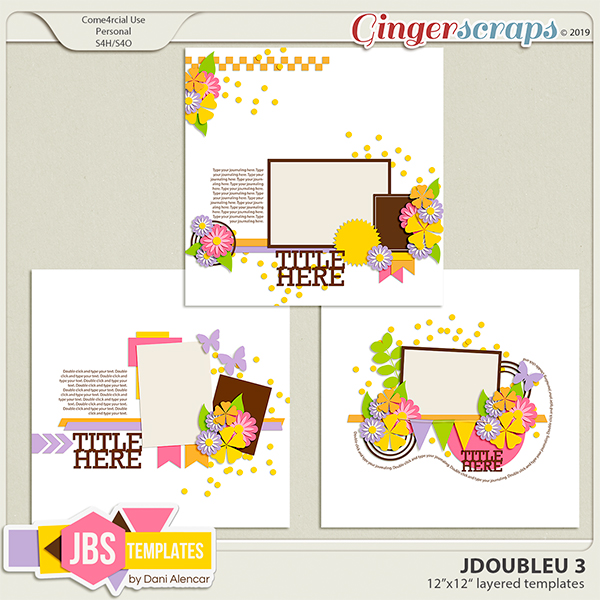 JDoubleU 3 Templates by JB Studio