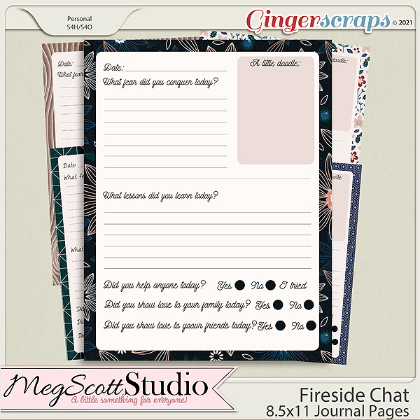 Fireside Chat - Journal Pages