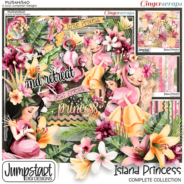 Island Princess {Complete Collection}