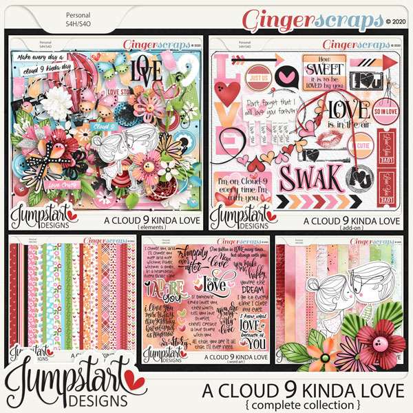 A Cloud 9 Kinda Love {Complete Collection} by Jumpstart Designs