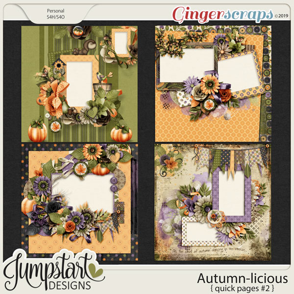 Autumn-licious {Quick Pages #2} by Jumpstart Designs