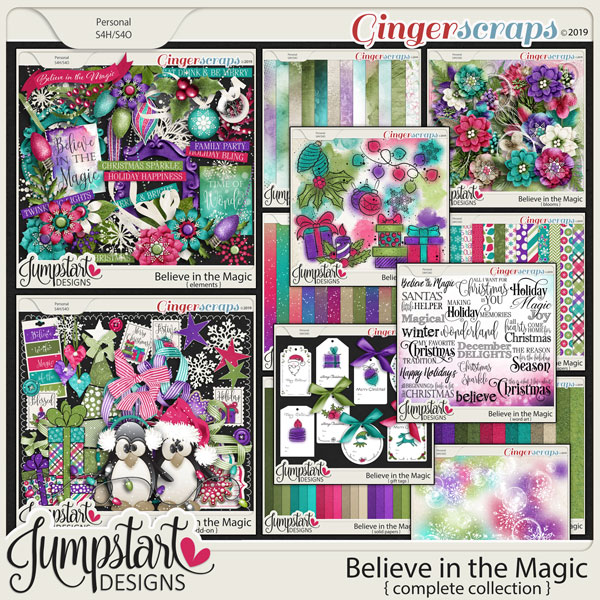 Believe in the Magic {Complete Collection} by Jumpstart Designs