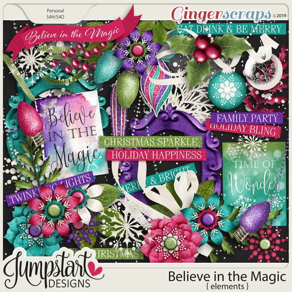 Believe in the Magic {Elements} by Jumpstart Designs