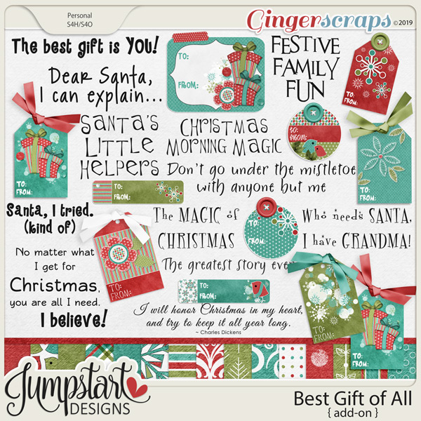 Best Gift of All {Add-On} by Jumpstart Designs