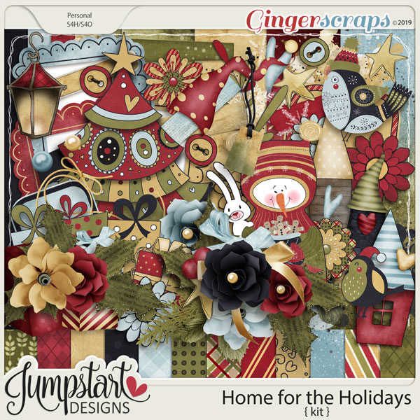 Home for the Holidays {Kit} by Jumpstart Designs