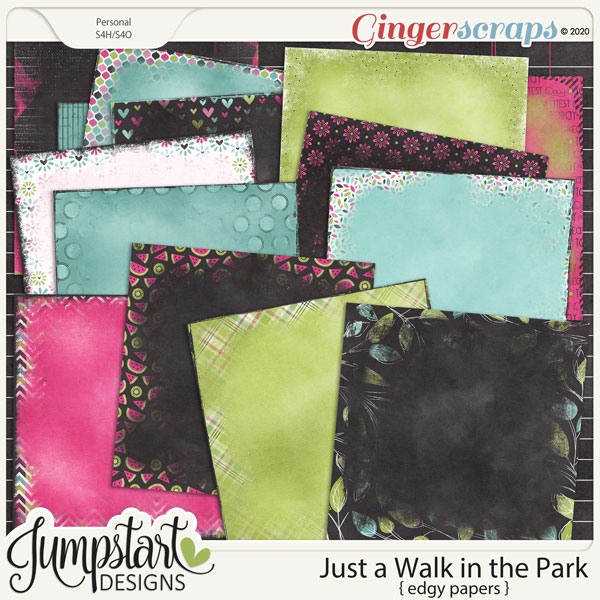 Just a Walk in the Park {Edgy Papers} by Jumpstart Designs