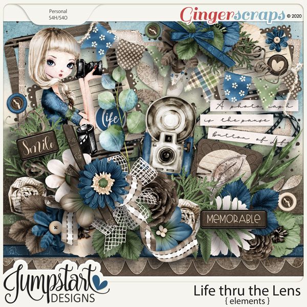 Life thru the Lens {Elements} by Jumpstart Designs