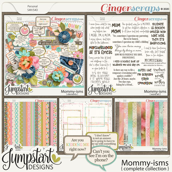 Mommy-isms {Complete Collection} by Jumpstart Designs
