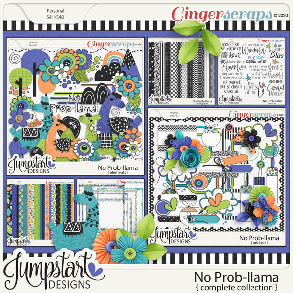 No Prob-llama {Complete Collection} by Jumpstart Designs