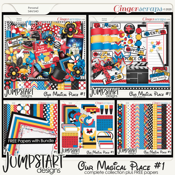 Our Magical Place #1 {Complete Collection}