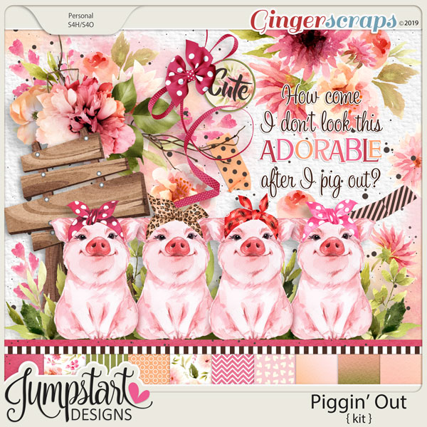 Piggin' Out {Kit} by Jumpstart Designs