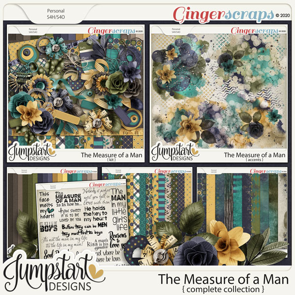 The Measure of a Man {Complete Collection} by Jumpstart Designs