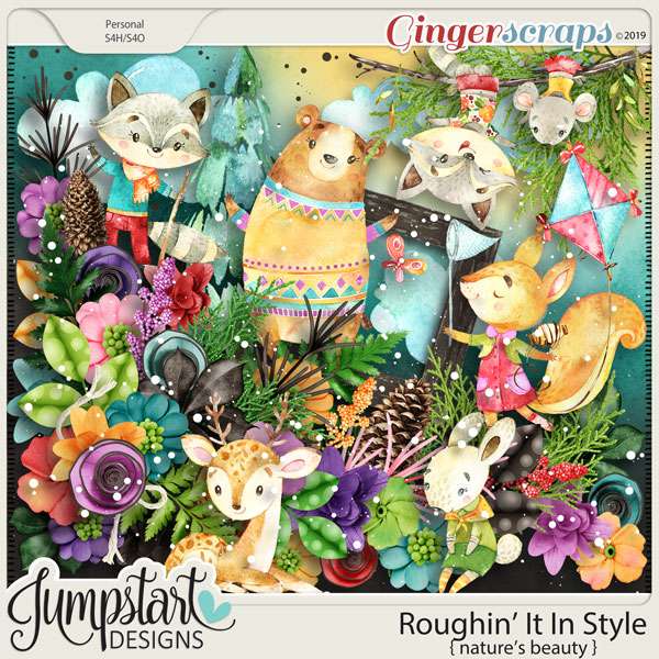 Roughin' It In Style {Nature's Beauty} by Jumpstart Designs