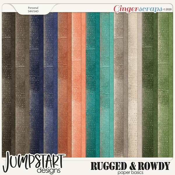Rugged & Rowdy {Basic Papers}