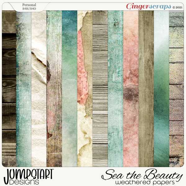 SEA the Beauty {Weathered Papers}