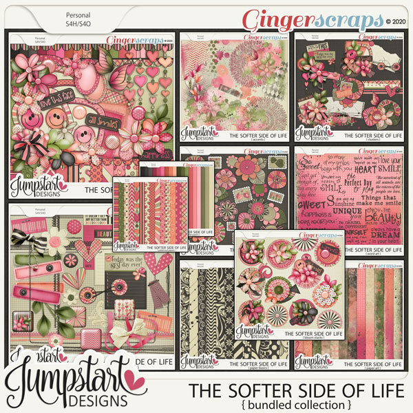 The Softer Side of Life {Bundled Collection} by Jumpstart Designs