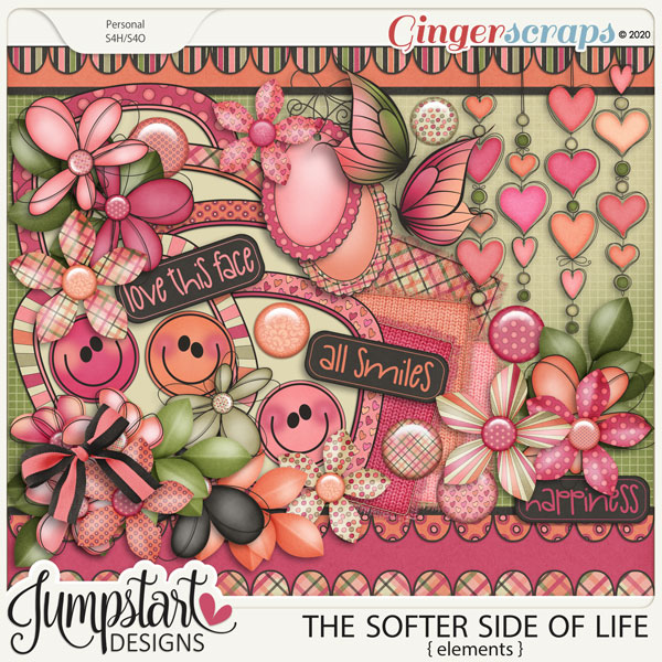 The Softer Side of Life {Elements} by Jumpstart Designs