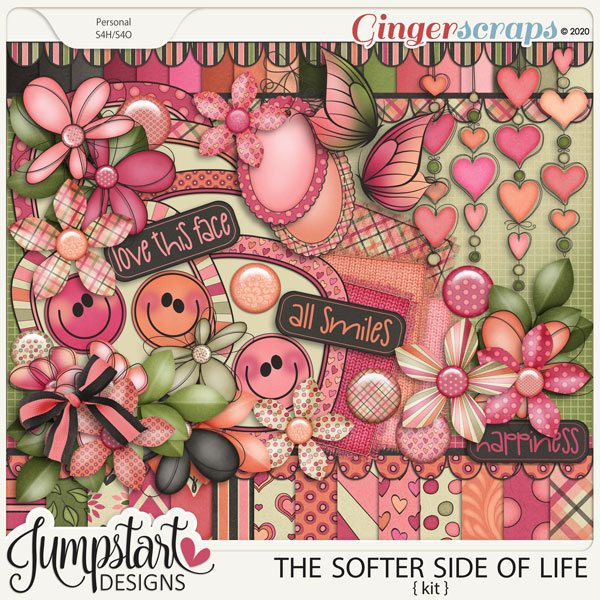 The Softer Side of Life {Kit} by Jumpstart Designs