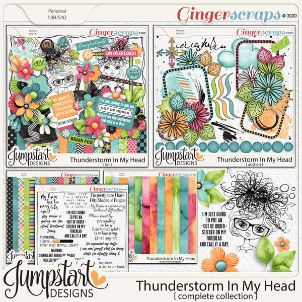 Thunderstorm In My Head {Complete Collection} by Jumpstart Designs