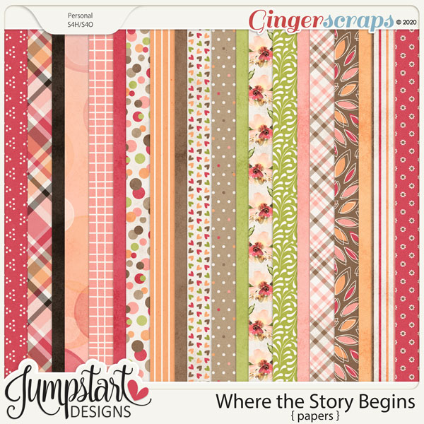 Where the Story Begins {Papers}