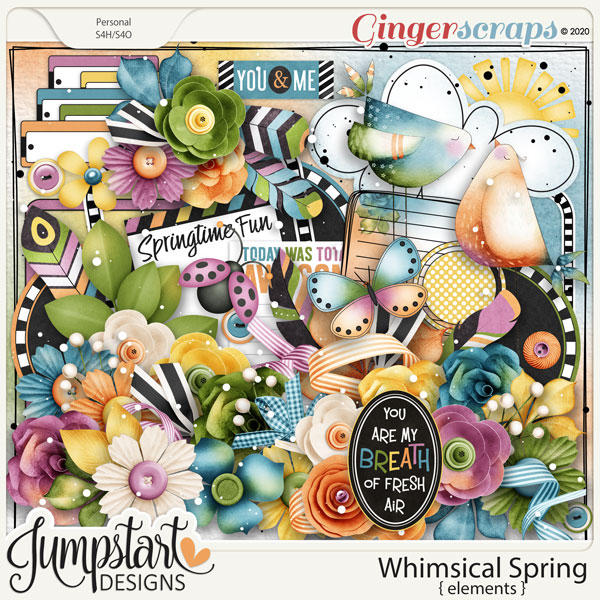 Whimsical Spring {Elements} by Jumpstart Designs