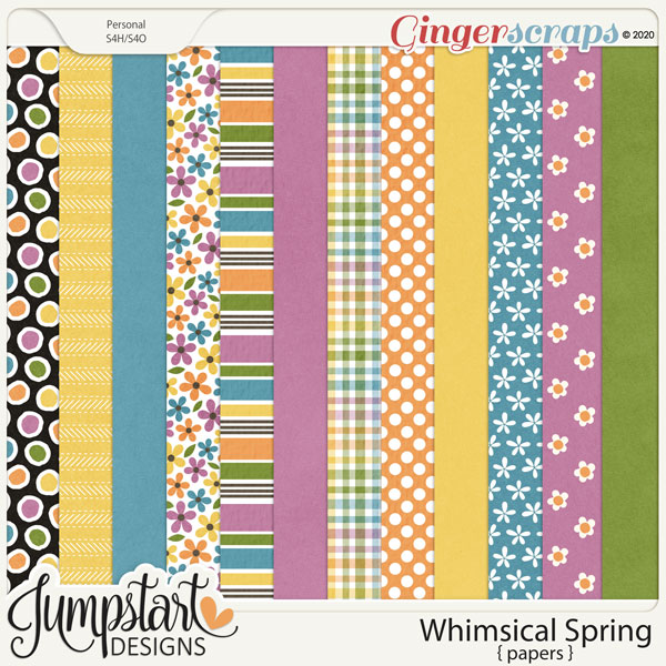 Whimsical Spring {Papers} by Jumpstart Designs