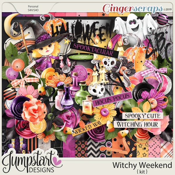 Witchy Weekend {Kit} by Jumpstart Designs