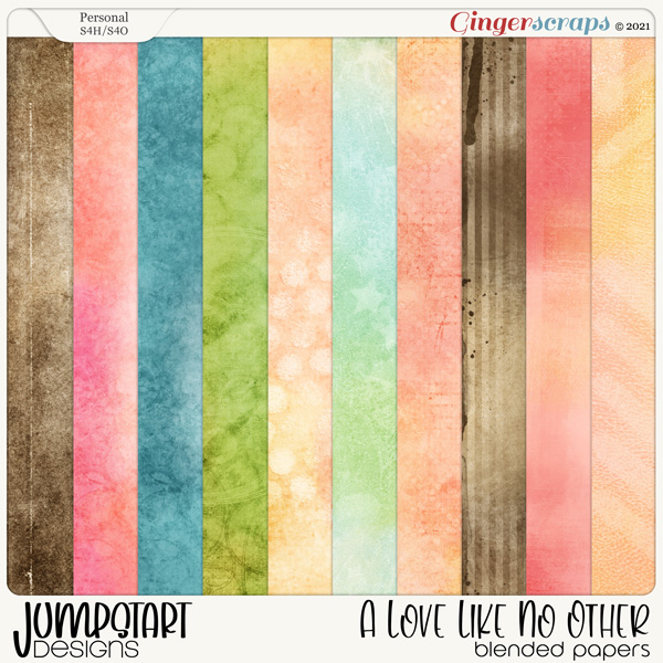 A Love Like No Other {Blended Papers}
