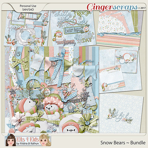 Snow Bears Bundle by K4K
