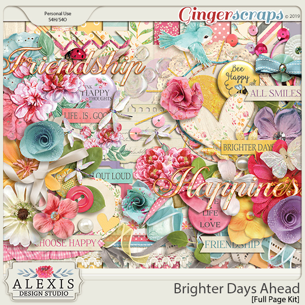Brighter Days Ahead - Page Kit