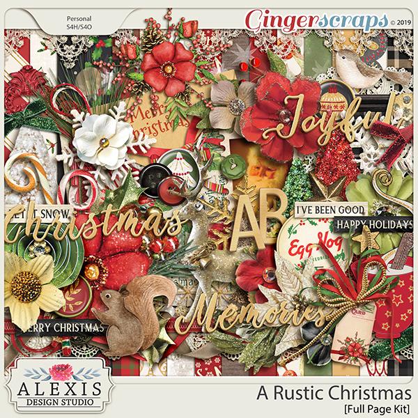 A Rustic Christmas - Kit