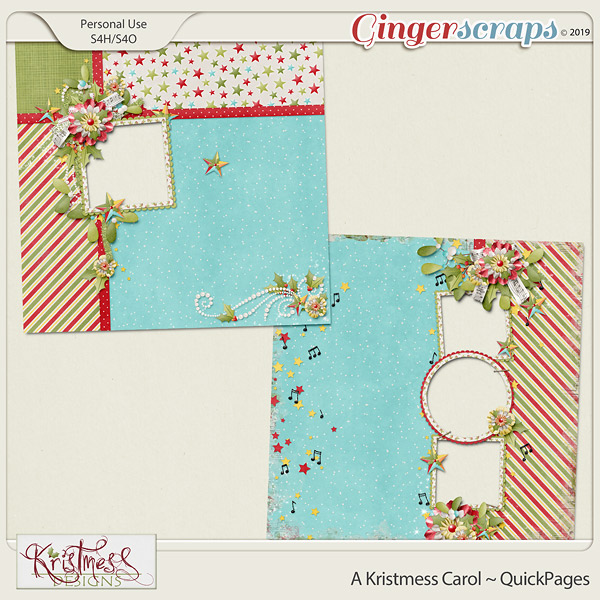 A Kristmess Carol QuickPages