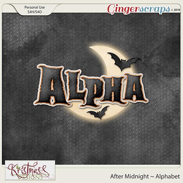 After Midnight Alphabet