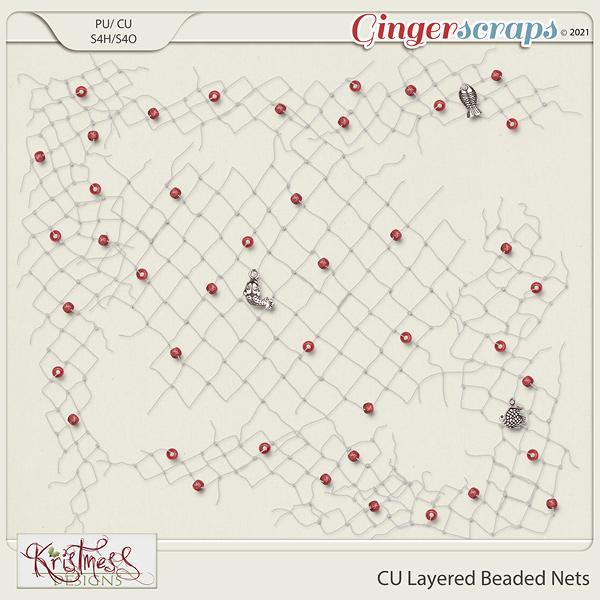 CU Layered Beaded Nets