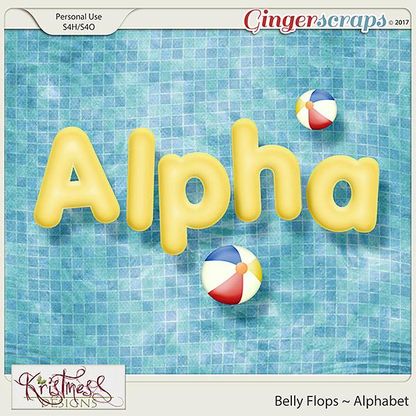Belly Flops Alphabet