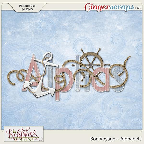 Bon Voyage Alphabets