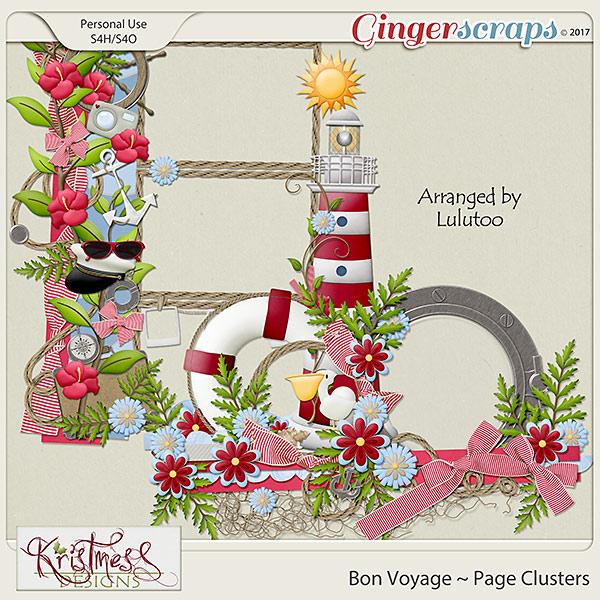 Bon Voyage Page Clusters