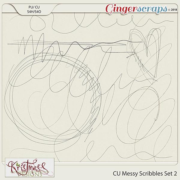 CU Messy Scribbles Set 2