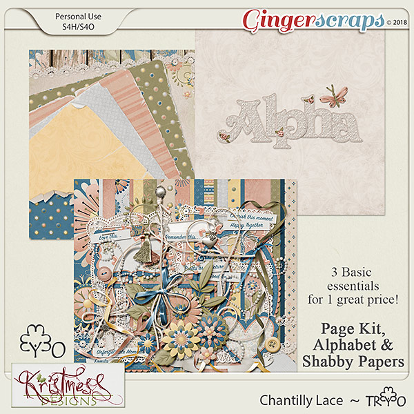 Chantilly Lace Trio
